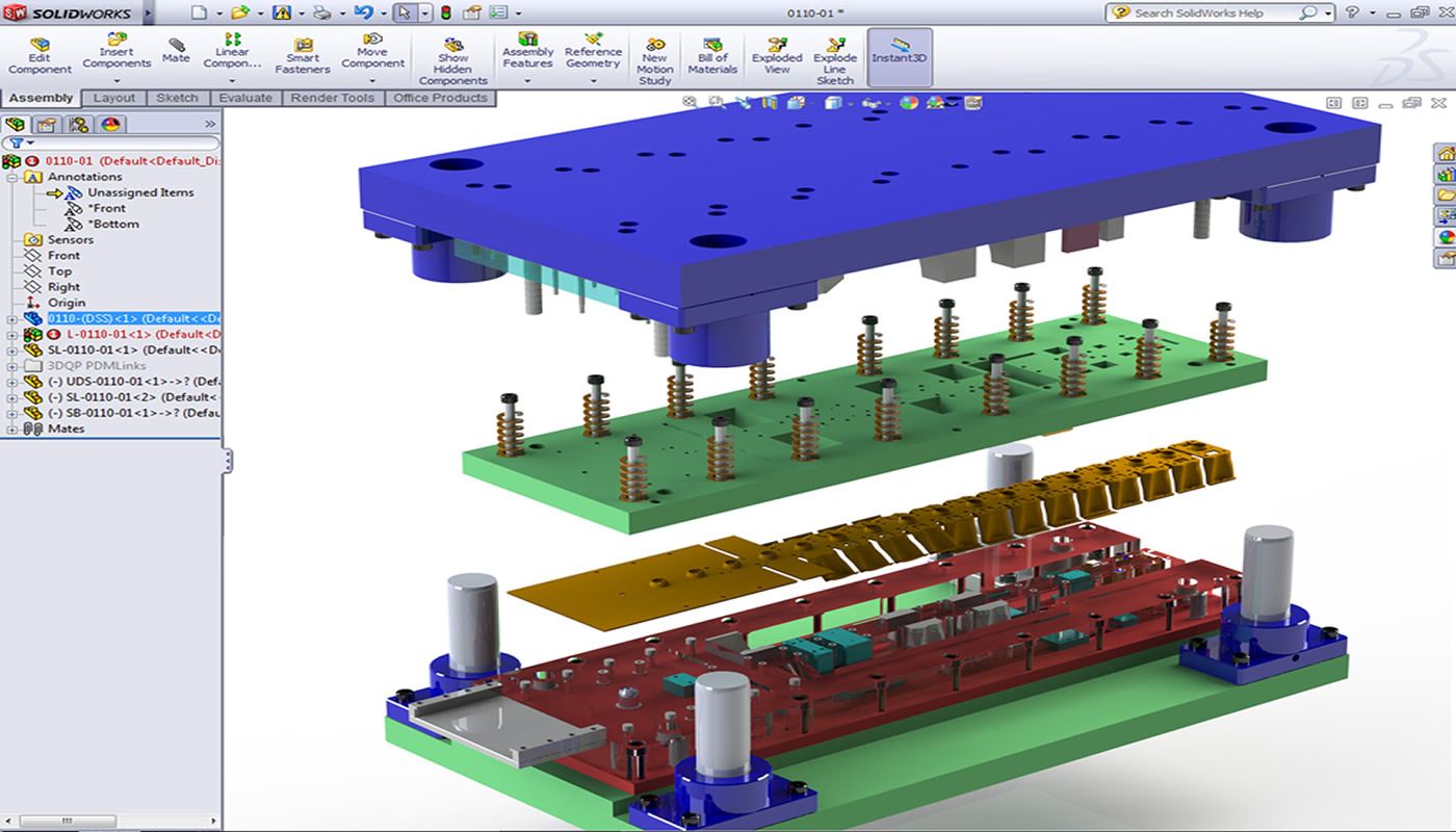 SolidWorks İleri Sac Metal Kalıp Kursu